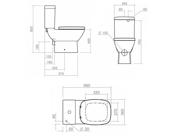 design wc becken ascot classic stone. Black Bedroom Furniture Sets. Home Design Ideas