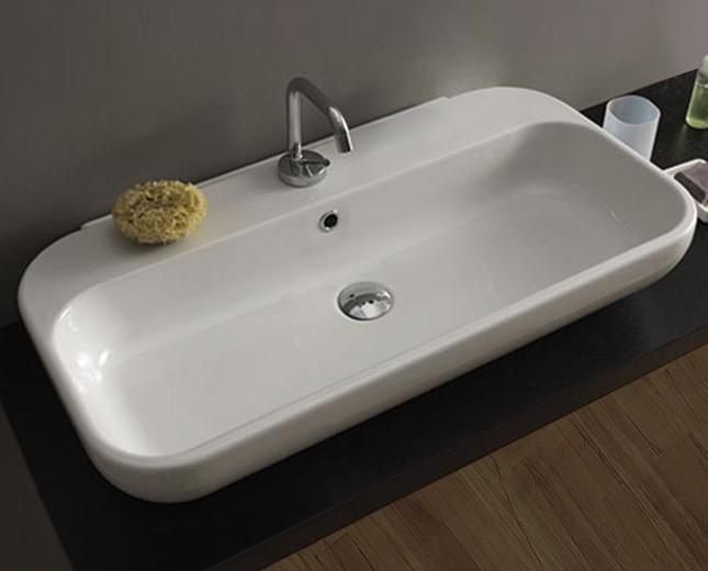 Waschbecken modern  Aufsatzwaschbecken, Waschbecken, Keramik Waschbecken, Keramik ...