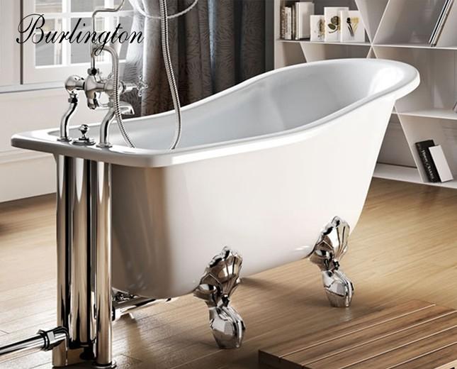 Freistehende Badewanne, Acryl Badewanne, Freistehende, Nostalgie ... Badezimmer Wanne