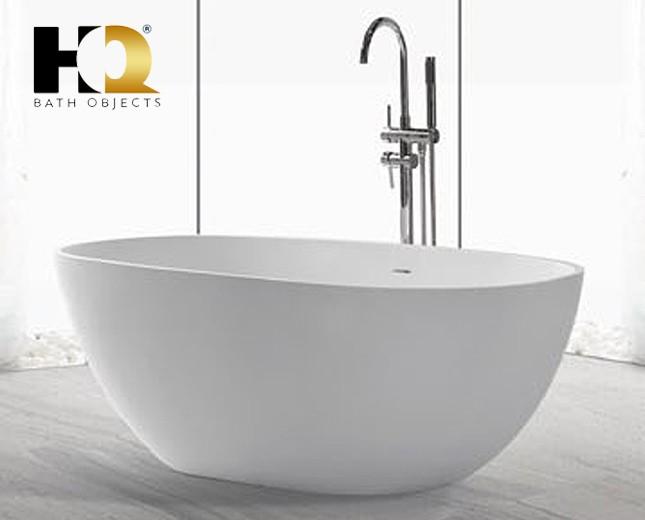 freistehende design badewanne aus mineralguss qu bec. Black Bedroom Furniture Sets. Home Design Ideas
