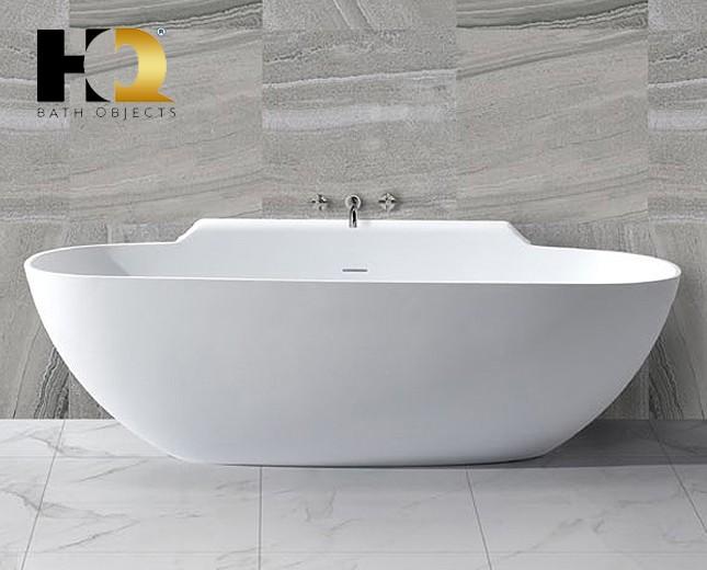 freistehende design badewanne aus mineralguss saint catharines classic stone. Black Bedroom Furniture Sets. Home Design Ideas