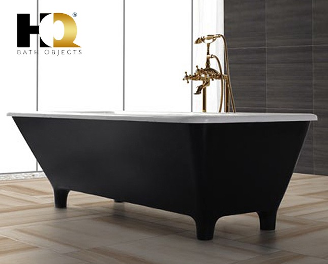 freistehende design badewanne aus mineralguss barrie. Black Bedroom Furniture Sets. Home Design Ideas