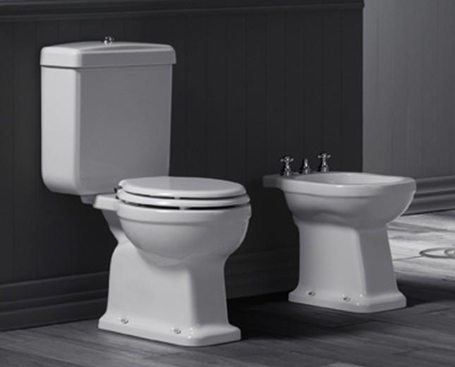 Brandneu WC, WC Becken, traditionelle, traditionell, designer, Bad  SZ61
