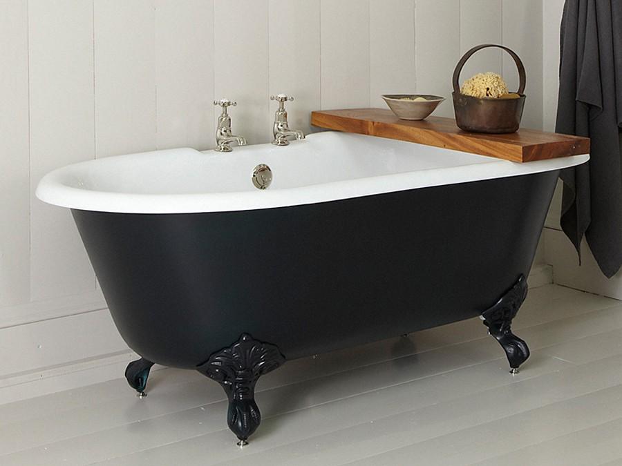 Badewanne freistehend mit füssen  Freistehende Gusseisen Badewanne, Guss Badewanne, Guss-Badewannen ...