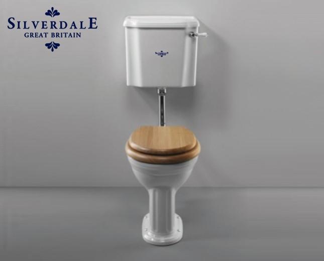 Hervorragend Nostalgie WC-Becken mit hängendem Spülkasten, traditionelles WC  KS26