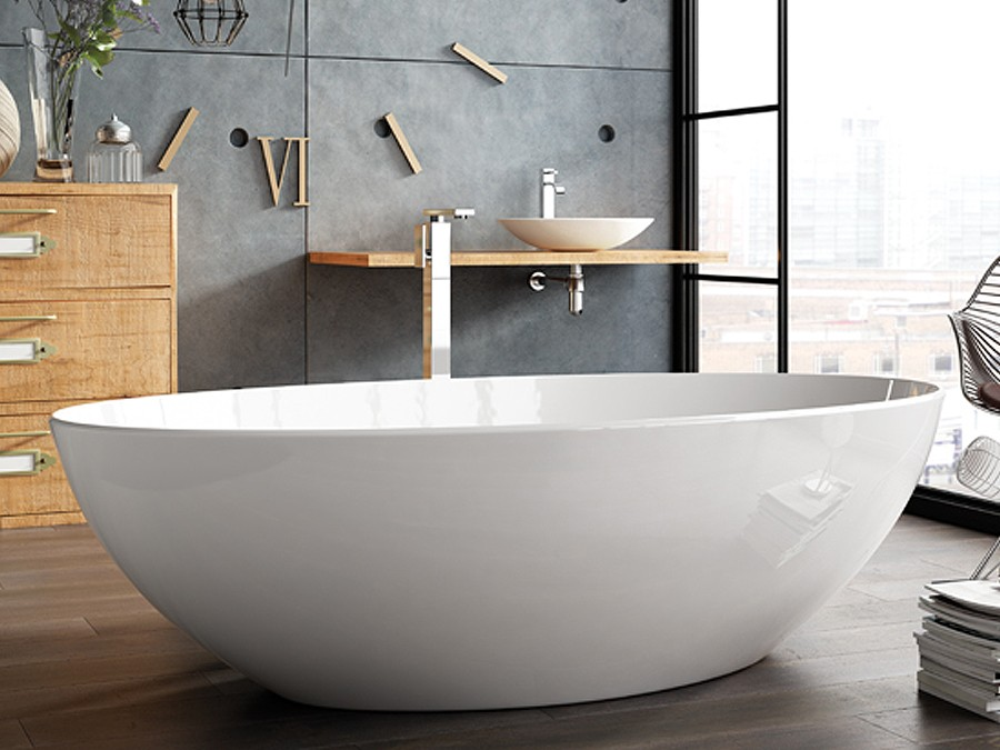 freistehende badewanne mineralguss badewanne freistehende mineralguss badewanne badewannen. Black Bedroom Furniture Sets. Home Design Ideas