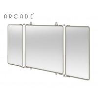 Nostalgie badezimmer spiegel arcade square schwenkbar - Nostalgie badezimmer ...
