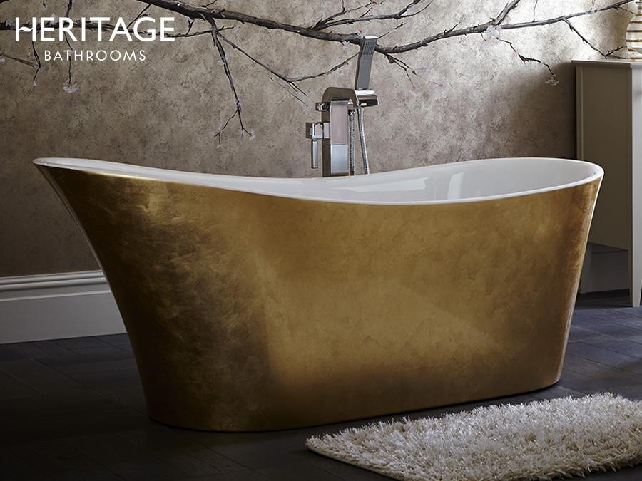 freistehende metallic badewanne acryl badewanne. Black Bedroom Furniture Sets. Home Design Ideas