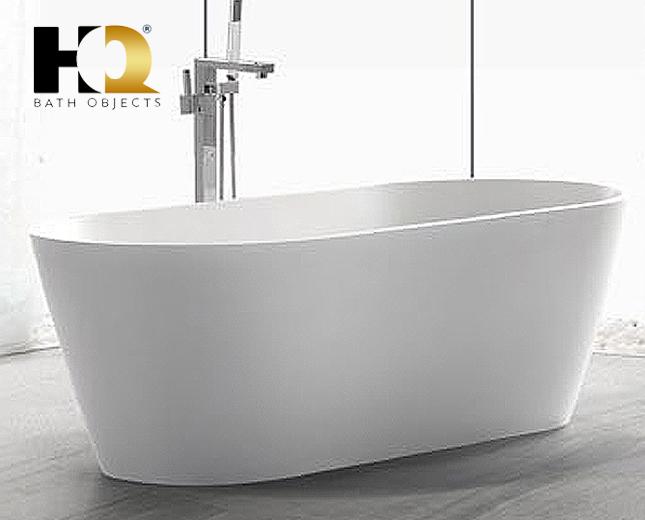 freistehende design badewanne aus mineralguss saguenay classic stone. Black Bedroom Furniture Sets. Home Design Ideas