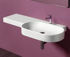 Wandhängende Design Waschbecken