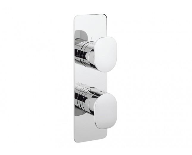 Design Zweigriff Unterputz Duscharmatur Zero-2 Vertikal / 2 Wege