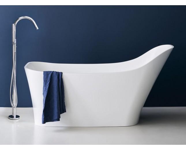 Freistehende Badewanne aus Natural Stone Nebbia