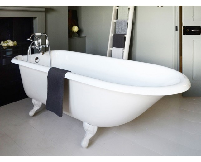 Freistehende Gusseisen Badewanne Farhampton