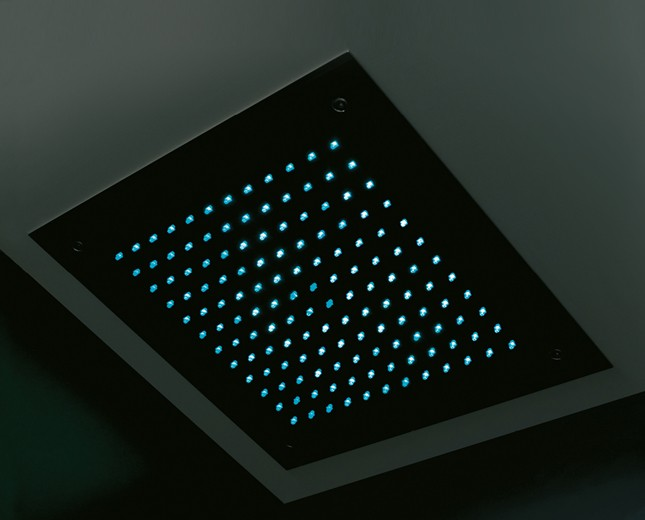 Design LED Kopfbrause Illuminated