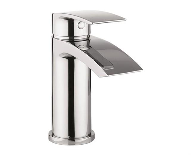 Design Einloch Waschtischarmatur M Flowe Chrome