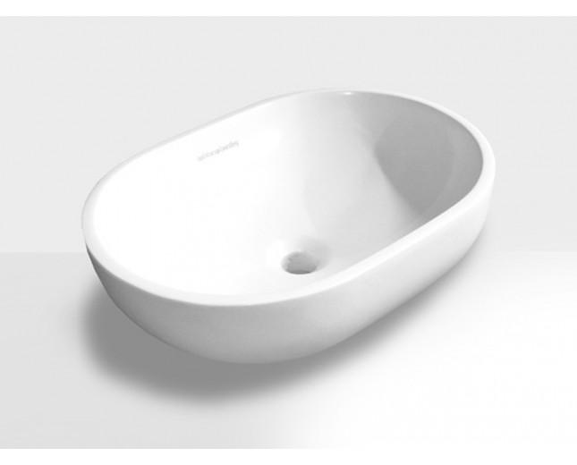 Mineralguss Aufsatz-Waschbecken Apollo