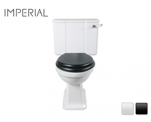 Nostalgie Keramik WC-Becken Chelsea aufgesetztem Spülkasten