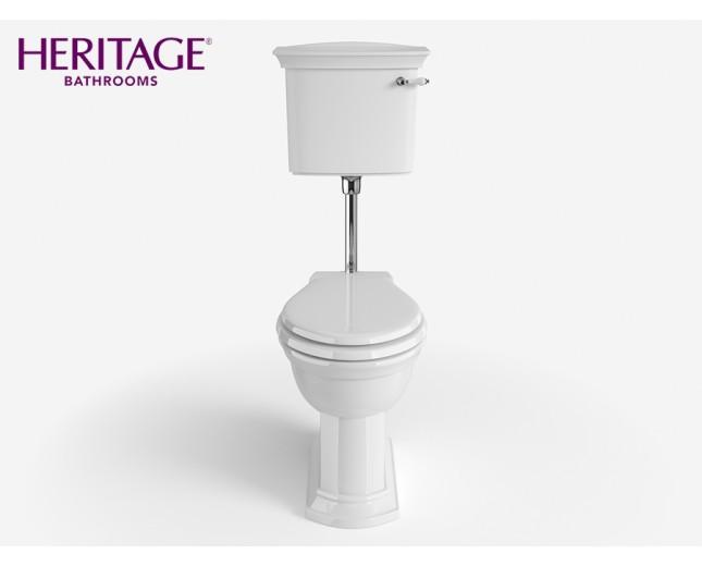 Nostalgie Keramik WC-Becken Blenheim mit hängendem Spülkasten