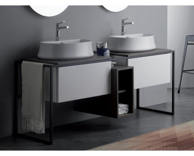 Design Doppel-Unterbau Frame für Aufsatzwaschbecken