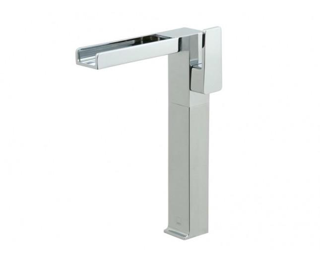 Design Wasserfall Waschtischarmatur Waterfall hochstehend