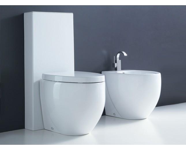 Keramik WC Ovo mit Spühlkasten