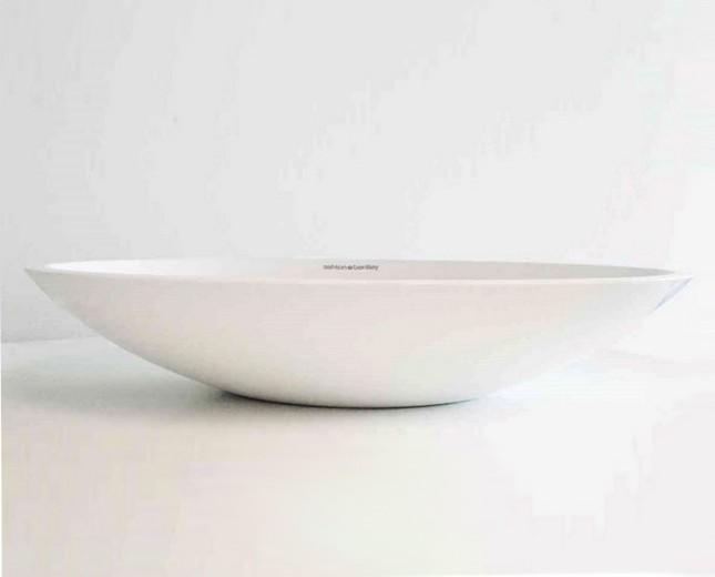 Mineralguss Aufsatz-Waschbecken Kos
