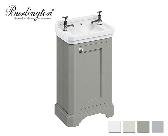 retro waschtisch mit unterbau edwardian 51 classic stone. Black Bedroom Furniture Sets. Home Design Ideas