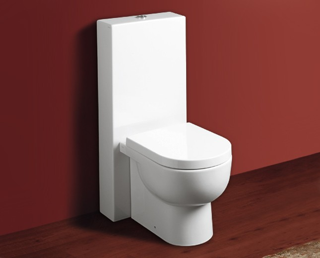 Top Design Keramik WC-Becken mit Spülkasten Bari Classic & Stone JK47