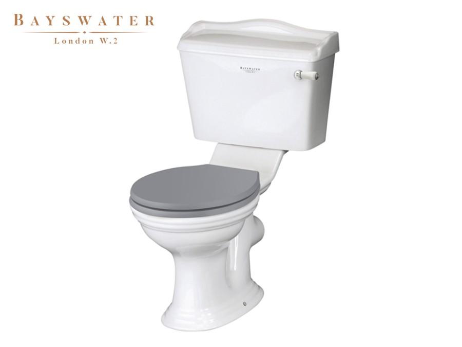 Bekannt Retro Keramik WC-Becken mit aufgesetztem Spülkasten Porchester FA31