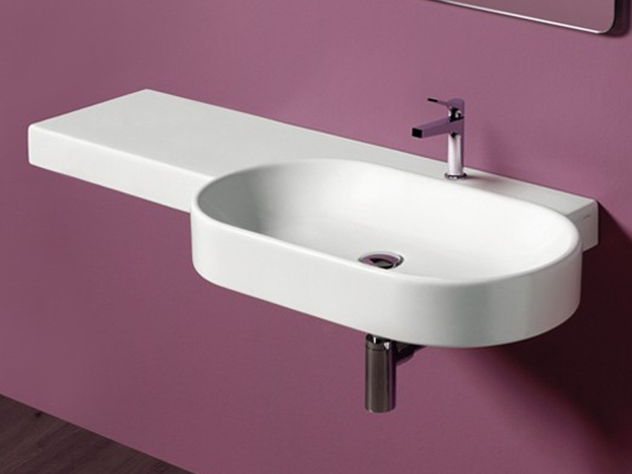 Waschbecken Wandhangend Flair Simas Design Modern 1