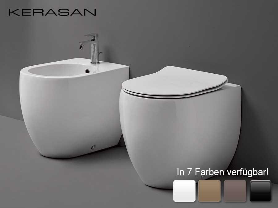 wc becken wandb ndig bodenstehend flo kerasan design modern farbig classic stone. Black Bedroom Furniture Sets. Home Design Ideas