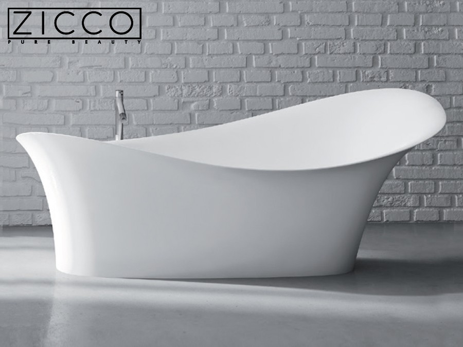 freistehende design badewanne aus mineralguss gaudi ii classic stone. Black Bedroom Furniture Sets. Home Design Ideas