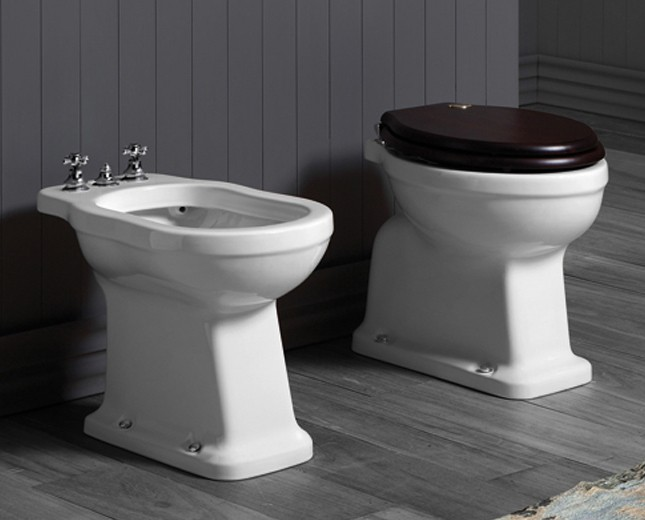 Wc Wc Becken Traditionelle Traditionell Designer Bad