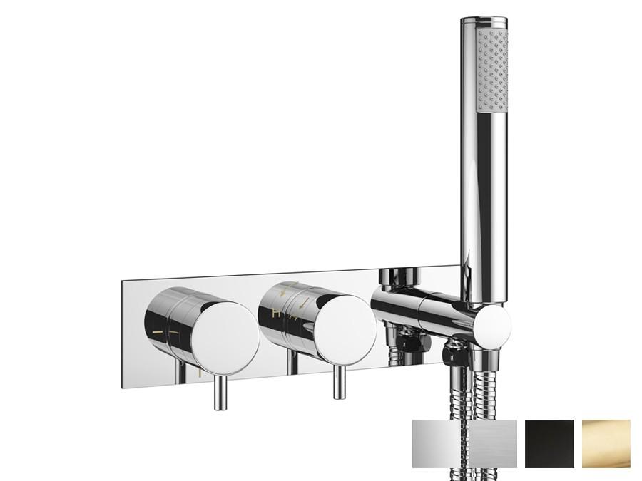 Duscharmatur Unterputz design zweigriff unterputz duscharmatur mike pro inkl. handbrause