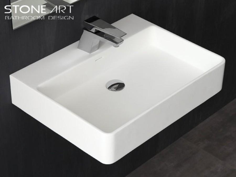 mineralguss waschbecken zur wandmontage denver classic stone. Black Bedroom Furniture Sets. Home Design Ideas