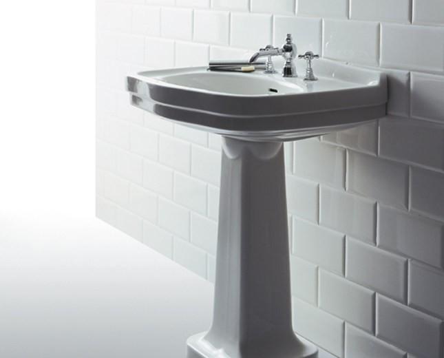 nostalgie keramik waschtisch mit stands ule legano large classic stone. Black Bedroom Furniture Sets. Home Design Ideas