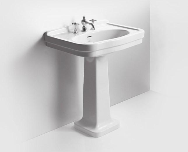 nostalgie keramik waschtisch mit stands ule legano large. Black Bedroom Furniture Sets. Home Design Ideas
