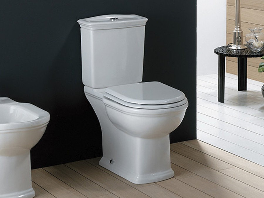 Top Keramik WC-Becken Washington mit aufgesetztem Spülkasten Classic ZT32