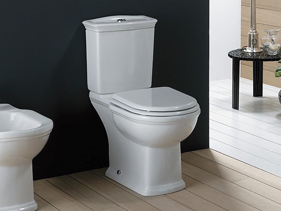 Berühmt Keramik WC-Becken Washington mit aufgesetztem Spülkasten Classic LU72