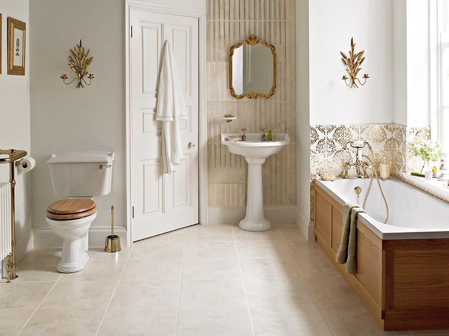 Wc wc becken nostalgie design traditionelle for Badezimmer keramik hersteller