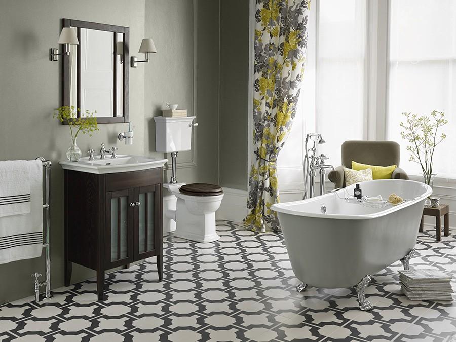 Wc wc becken nostalgie design traditionelle - Nostalgie badezimmer ...