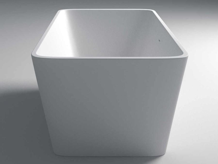 Freistehende Badewanne Eckig freistehende badewanne mineralguss badewanne freistehende