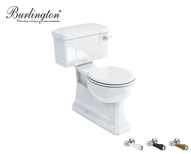 Sehr Retro Keramik WC-Becken Classic mit aufgesetztem Spülkasten WG09