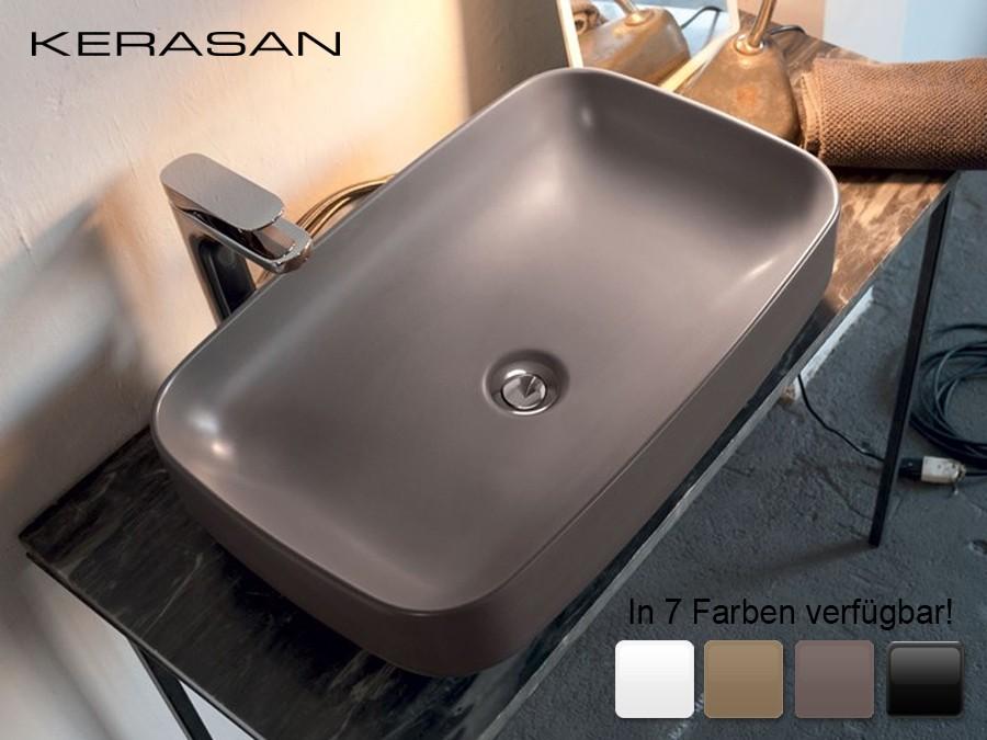 Waschbecken Farbig.Keramik Aufsatz Waschbecken Tribeca