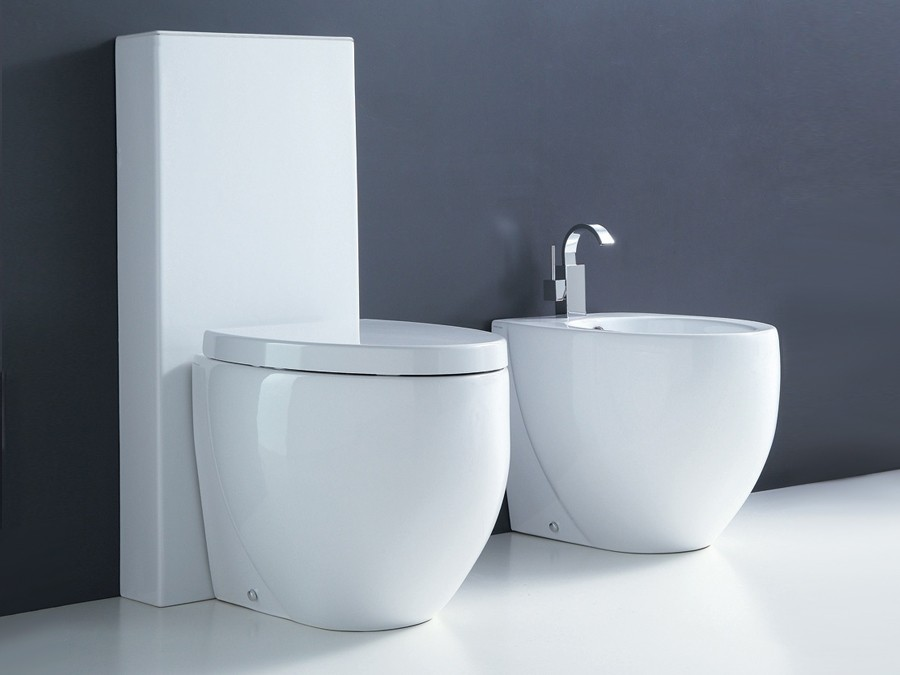 Wc wc becken modern design traditionelle traditionell