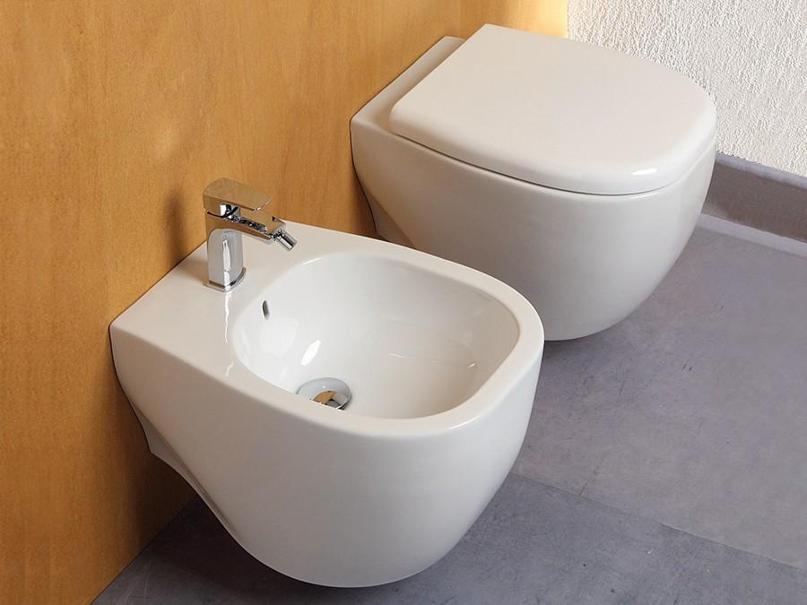 Keramik Design WC-Becken Weg wandhängend