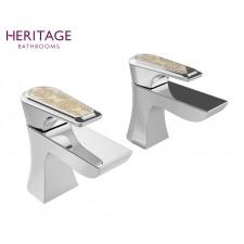 Design Zweiloch Waschtischarmatur Lymington