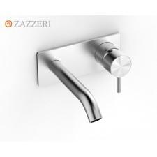 Design Unterputz-Waschtischarmatur Zazzeri Z316 zur Wandmontage