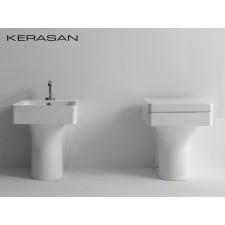 Keramik WC-Becken Cento Square wandbündig
