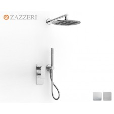 Design Unterputz-Duscharmatur Zazzeri 100 mit rundem Duschkopf M